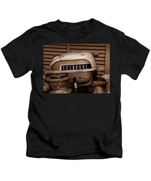 Vintage Evinrude Kids T-Shirt