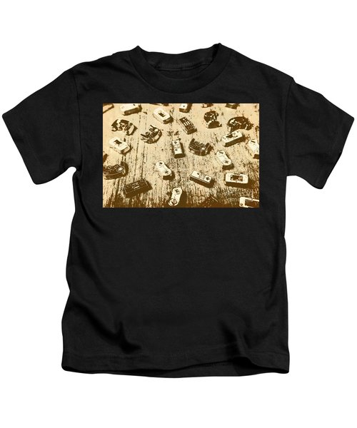 Vintage Gamers Kids T-Shirt