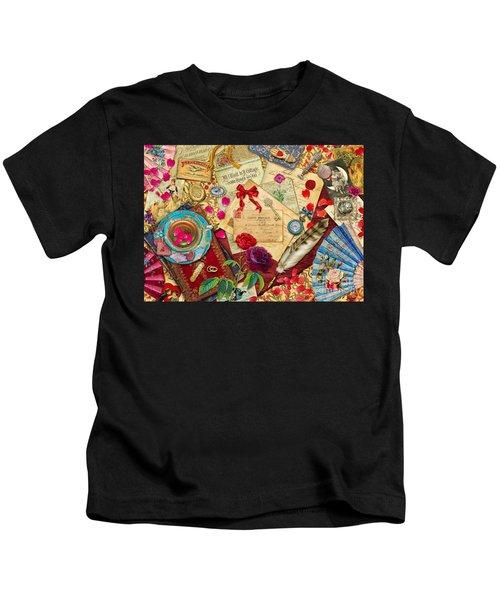 Vintage Love Letters Kids T-Shirt