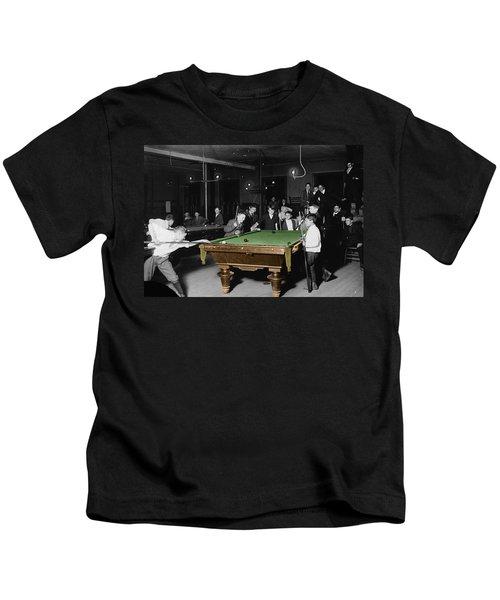 Vintage Pool Hall Kids T-Shirt