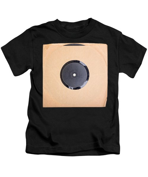 Vintage Record Album Tee Kids T-Shirt