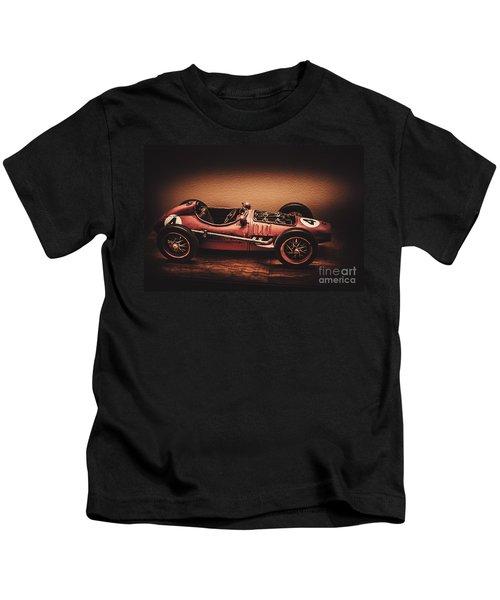 Vintage Toy Model Racing Car Kids T-Shirt