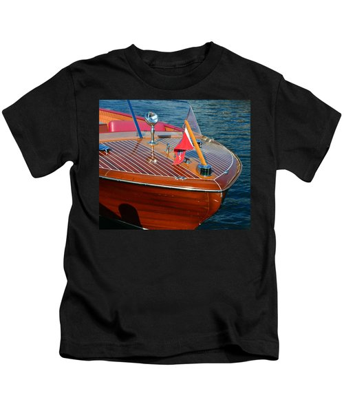 Classic 1958 Chris Craft Continental Kids T-Shirt