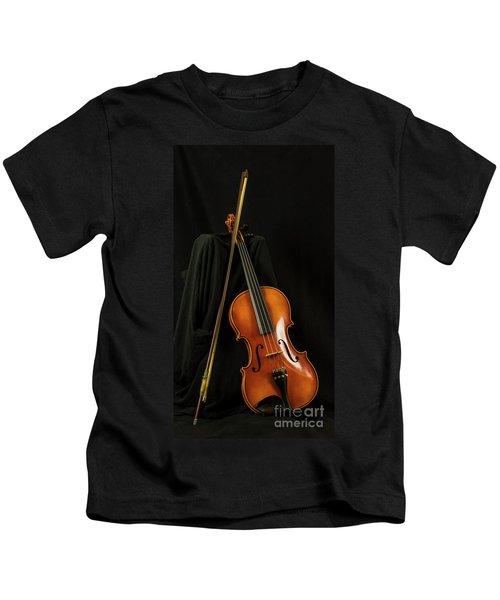 Violin And Bow Kids T-Shirt