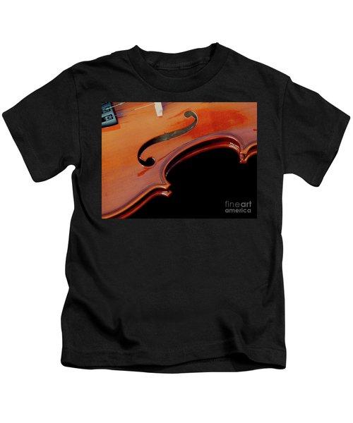 Violin Kids T-Shirt