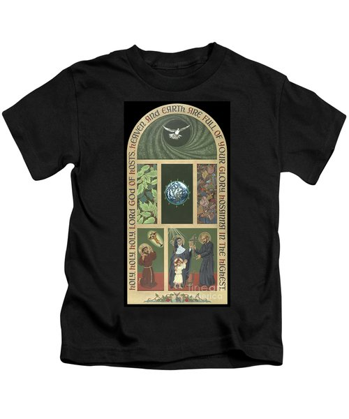 Viriditas - Finding God In All Things Kids T-Shirt