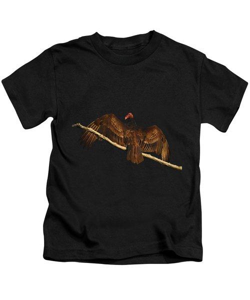 Vivid Vulture .png Kids T-Shirt