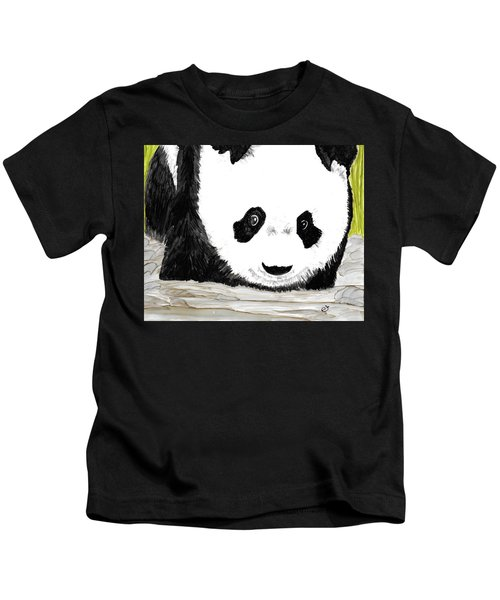 Vivi's Pet Panda Kids T-Shirt