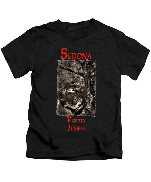 Vortex Juniper Clinging To A High Perch Kids T-Shirt