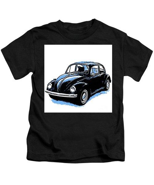 Vw Beetle Graphic Kids T-Shirt