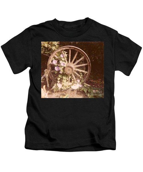 Wagon Wheel Memoir Kids T-Shirt
