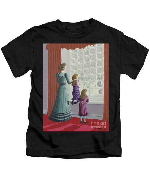 Waiting For Father Kids T-Shirt