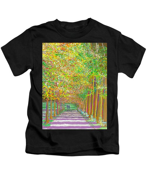 Walk In Park Cathedral Kids T-Shirt