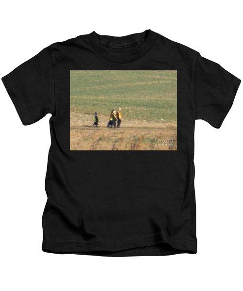 Walking Home Kids T-Shirt