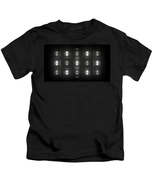 Wall Of Roundels - 5x3 Kids T-Shirt