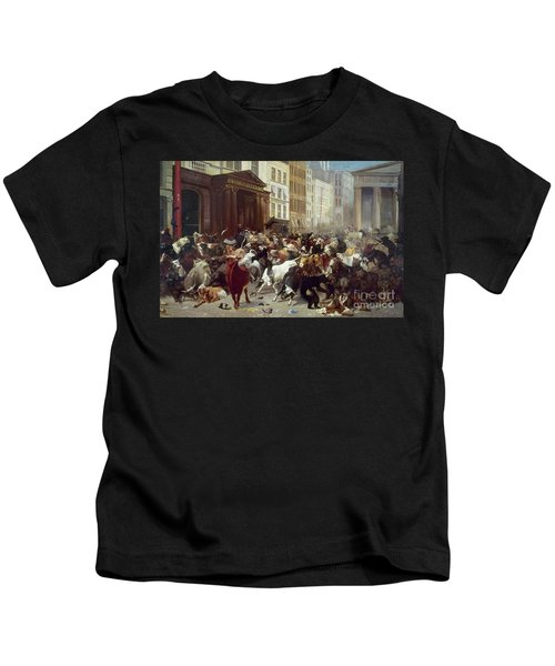 Wall Street: Bears & Bulls Kids T-Shirt