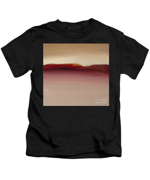 Warm Mountains Kids T-Shirt