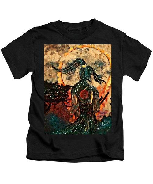 Warrior Moon Kids T-Shirt