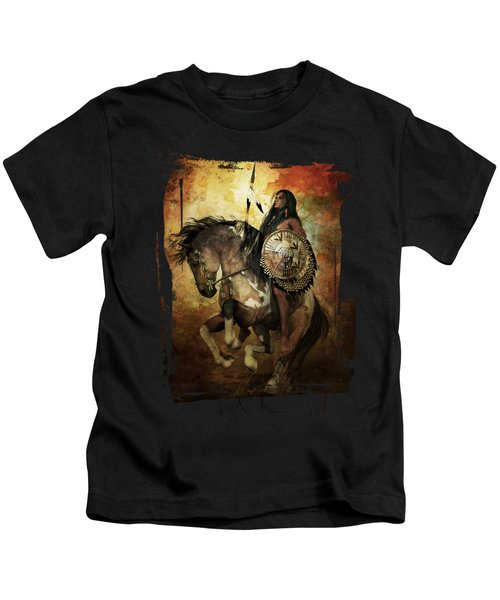 Warrior Kids T-Shirt by Shanina Conway