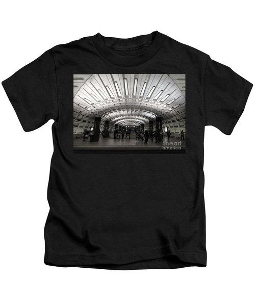 Washington Dc Metro Metro Center Stop Kids T-Shirt