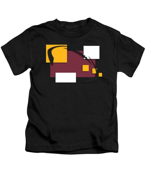 Washington Redskins Abstract Shirt Kids T-Shirt