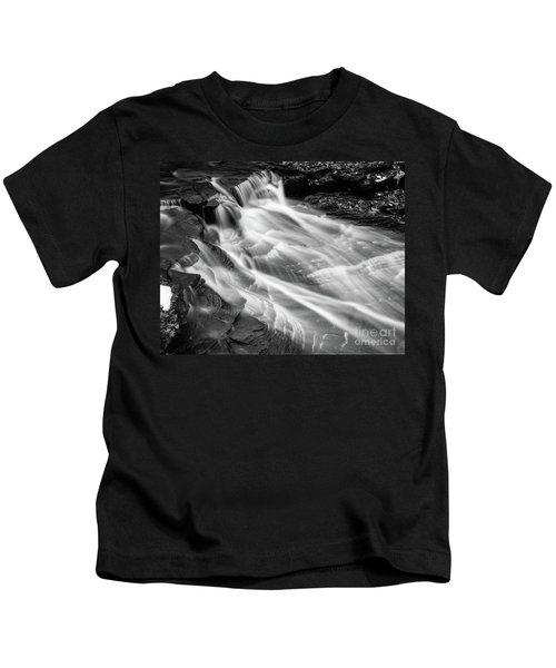 Water Falls Kids T-Shirt