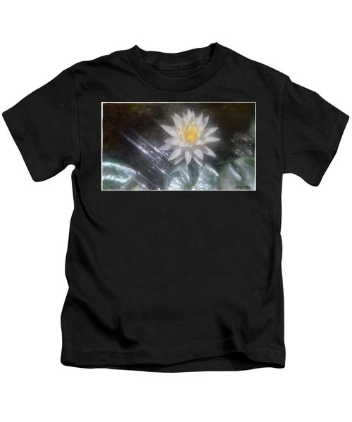 Water Lily In Sunlight Kids T-Shirt