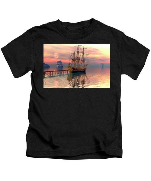 Water Traffic Kids T-Shirt