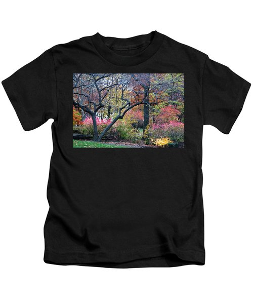 Watercolor Forest Kids T-Shirt