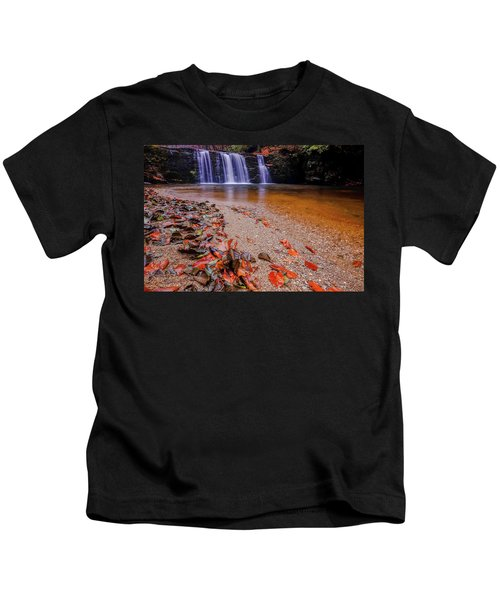 Waterfall-8 Kids T-Shirt