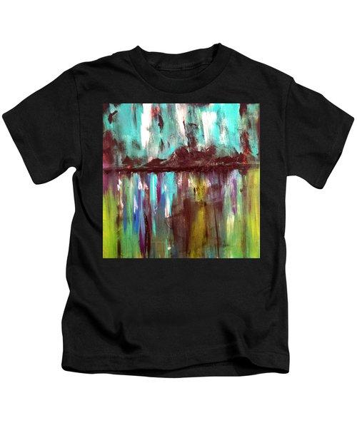 Waterfront Reflections Kids T-Shirt