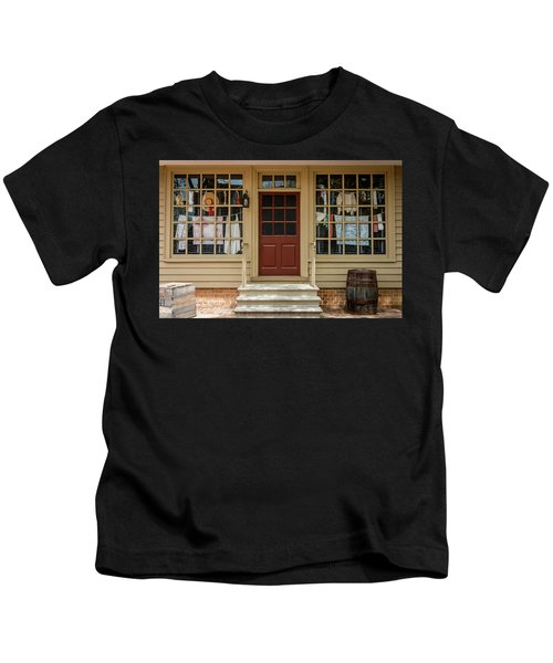 Waters Storehouse Colonial Williamsburg Kids T-Shirt