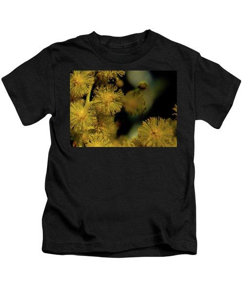 Wattle Flowers Kids T-Shirt