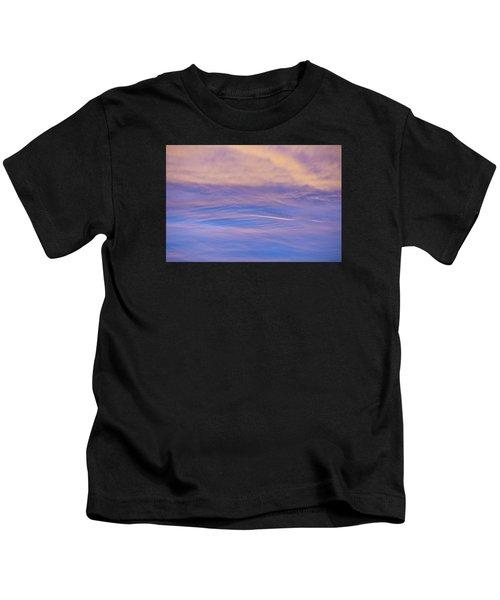 Waves Of Color Kids T-Shirt
