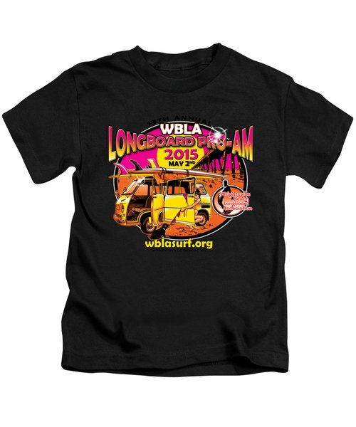 Wbla 2015 For Promo Items Kids T-Shirt