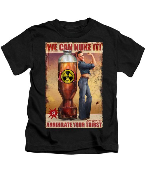 We Can Nuke It Kids T-Shirt