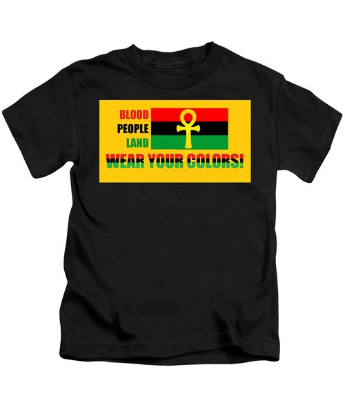 Wear Red Black And Green Kids T-Shirt
