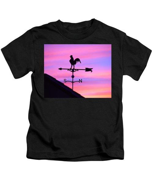 Weather Vane, Wendel's Cock Kids T-Shirt