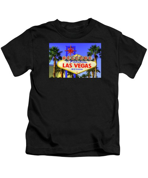 Welcome To Las Vegas Kids T-Shirt