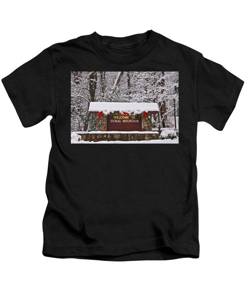 Welcome To Signal Mountain Kids T-Shirt