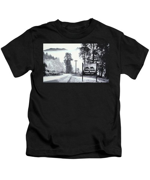 Welcome To Twin Peaks Kids T-Shirt