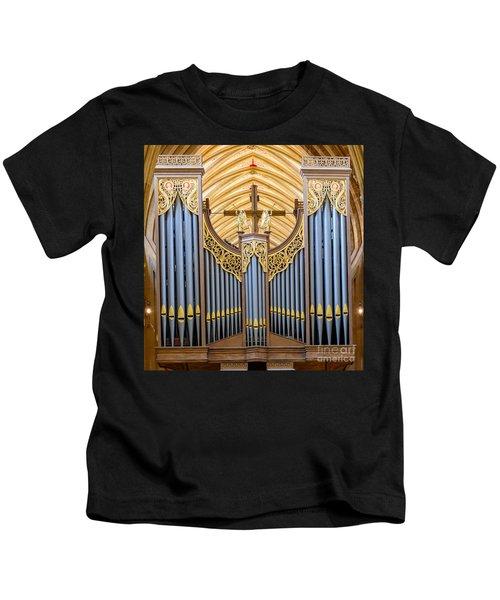 Wells Cathedral Organ Kids T-Shirt