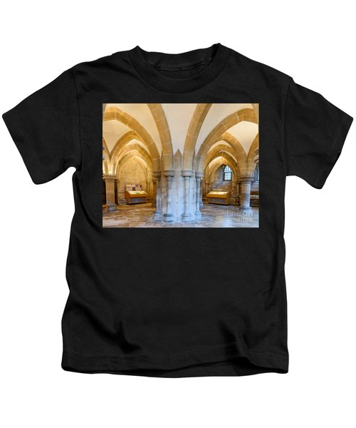 Wells Cathedral Undercroft Kids T-Shirt