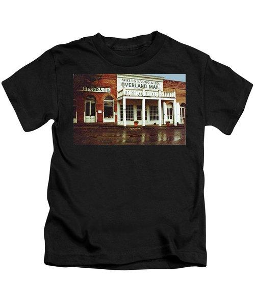 Wells Fargo Ghost Station Kids T-Shirt