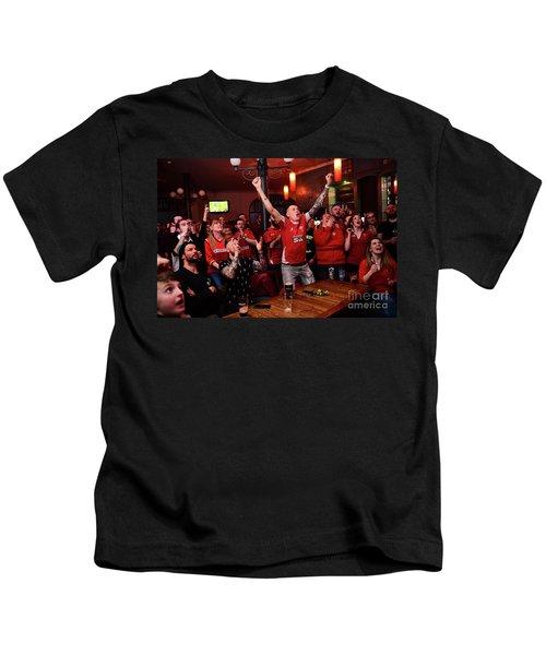 Welsh Rugby Fans Kids T-Shirt