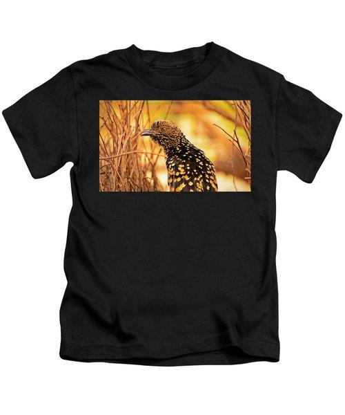 Western Bowerbird Kids T-Shirt