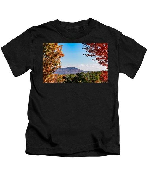 Westhampton View Of Mount Tom Kids T-Shirt