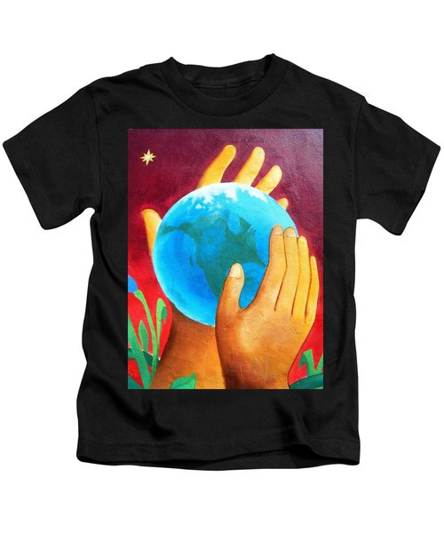 What A Wonderful World ... Kids T-Shirt
