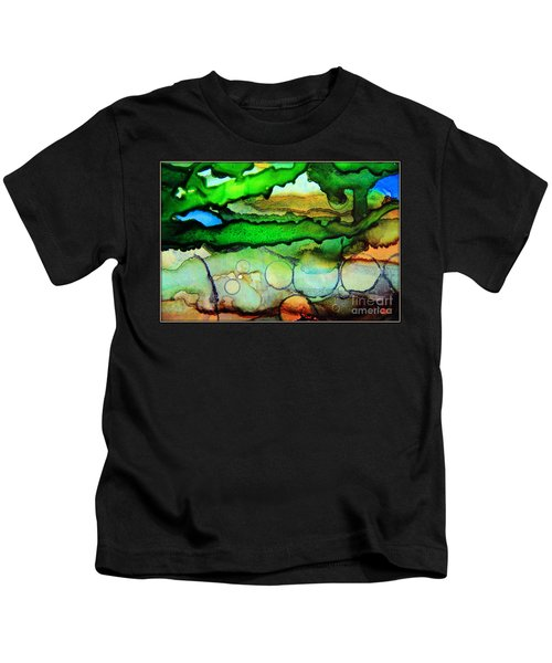 Where The Rivers Flow.. Kids T-Shirt