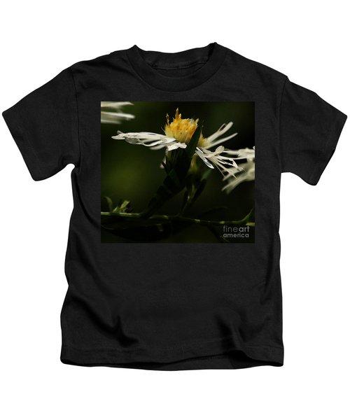 White Aster Kids T-Shirt